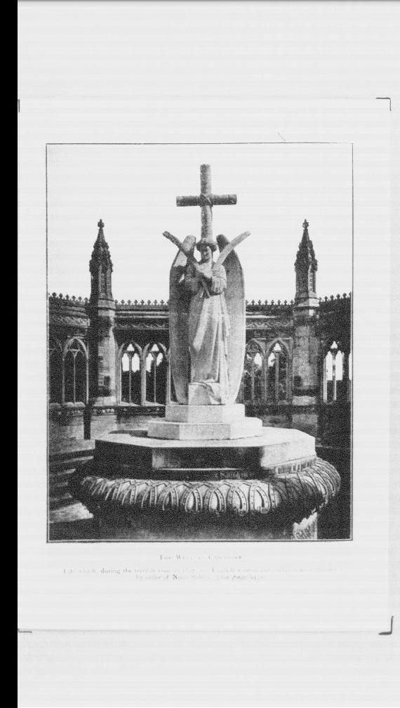 カウンポールの井戸,1857年の恐ろしい時代の間,その井戸に ...
