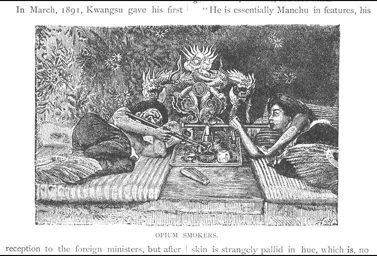 アヘン常用者/(Opium smokers.)