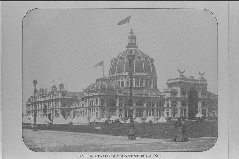 アメリカ合衆国イリノイ州シカゴにて1893年に開催されたコロンブス ...
